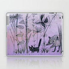 little cat in the garden Laptop & iPad Skin