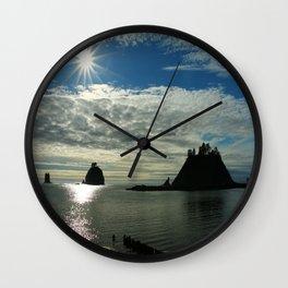 La Push Sunset Wall Clock
