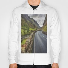 Llanberis Pass Winding Road Hoody