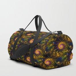 Continium 3D Flame Fractal Duffle Bag