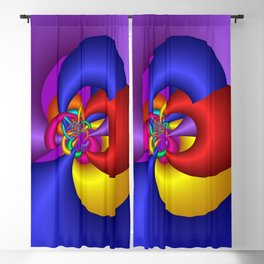 colorful and fractal -103- Blackout Curtain