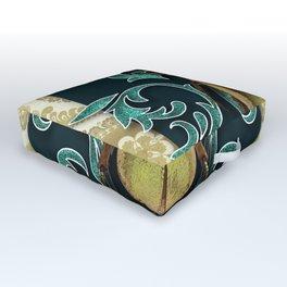 GOLDEN BEETLE Outdoor Floor Cushion