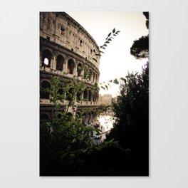 the collosseum Canvas Print