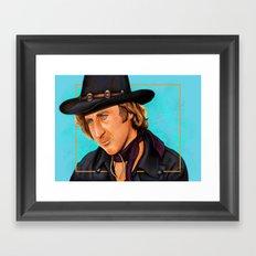 The Wilder Jim Framed Art Print