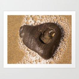 Heart of Goleta Beach Art Print