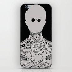 the illustrated man - bradbury iPhone Skin