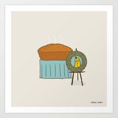 Banana Dead Art Print