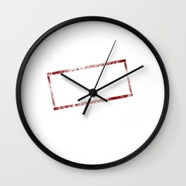 Under New Management Retired Funny T-shirt Wall Clock