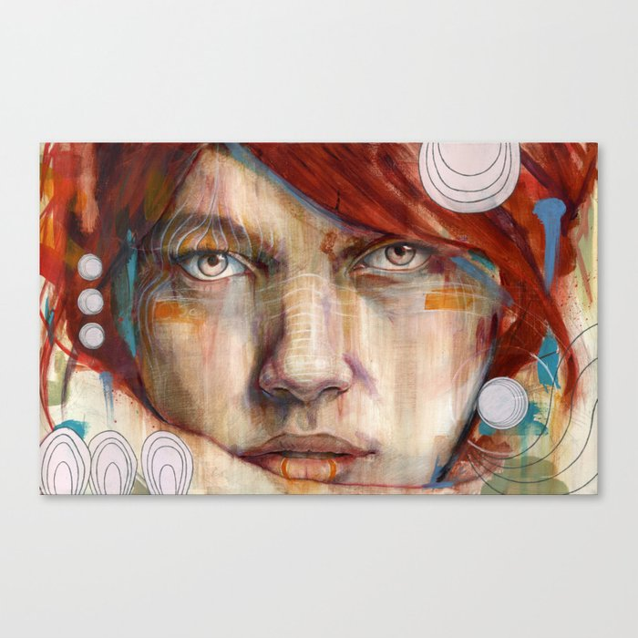 Auburn Canvas Print