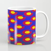 colorado Mugs featuring Colorado by JacksonBear