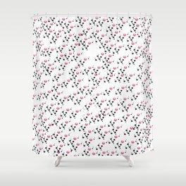Cola Fizz: White Shower Curtain