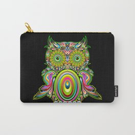 Owl Psychedelic Art Design Carry-All Pouch