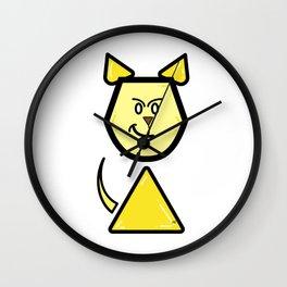 Robot Cat Assistant Wall Clock