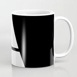 More than Shape  / Capital Letter A Coffee Mug