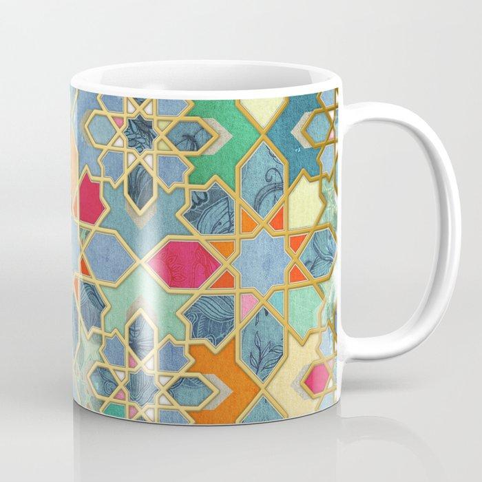 Gilt & Glory - Colorful Moroccan Mosaic Coffee Mug