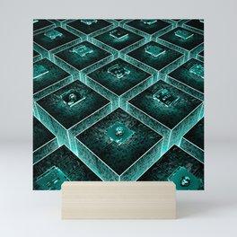 AzTECH Temple Mini Art Print