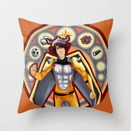 Digimon Cards: Tai Throw Pillow