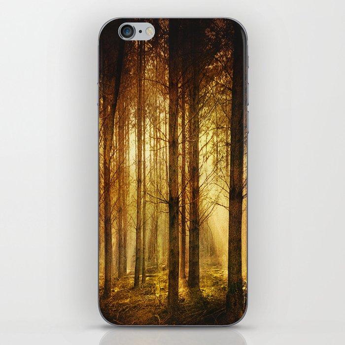 Golden Nature. iPhone Skin