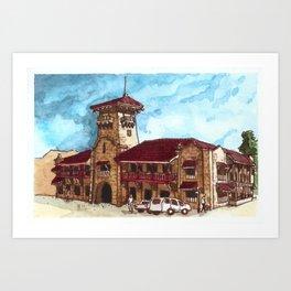 Zamboanga City Hall Art Print