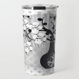 Stillleben Kirschblüten Travel Mug