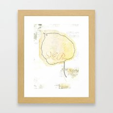 leaf8 Framed Art Print