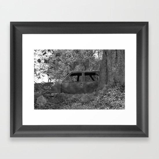 Back to start Framed Art Print