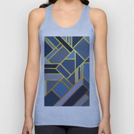 Art Deco Drops Of Jupiter Unisex Tank Top