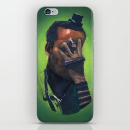 Untitled (soldier, green) iPhone Skin