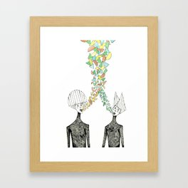 Shapemakers Framed Art Print