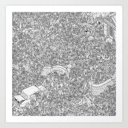 Outbreak! Art Print