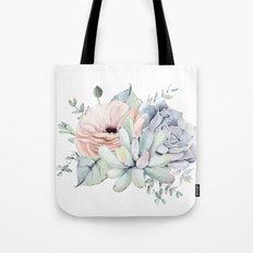 Pretty Succulents by Nature Magick Tote Bag
