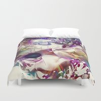 karma Duvet Covers featuring Karma II by angrymonk