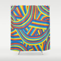 Happy Roads Shower Curtain