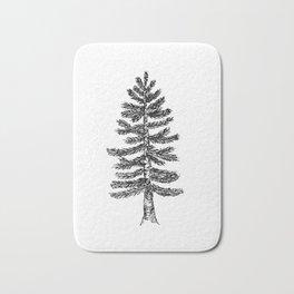 Pine Tree Bath Mat