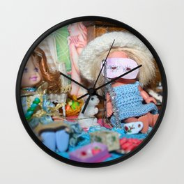 Dollhouse Masquerade Wall Clock