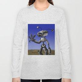 Mr Robo Long Sleeve T-shirt