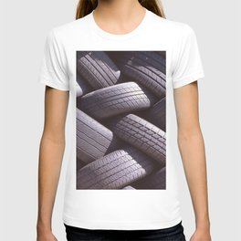 RUBBER PILE T-shirt