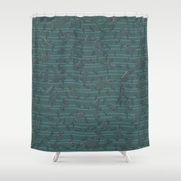 Lots of Fish Shower Curtain