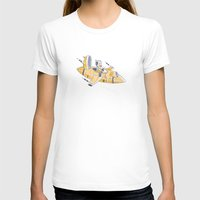 spaceship T-shirts featuring SPACESHIP by Sharon Sordo