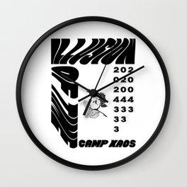 Camp Kaos Wall Clock