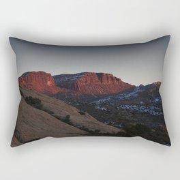 Desert Sunset Rectangular Pillow