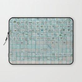 The Complete Voynich Manuscript - Blue Tint Laptop Sleeve