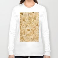 floral pattern Long Sleeve T-shirts featuring Floral pattern by nicky2342
