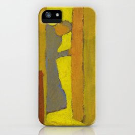 The Artists Mother Opening a Door - Digital Remastered Edition iPhone Case