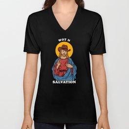 Wot N Salvation Unisex V-Neck