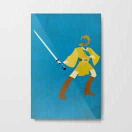 Obi-Wan Kenobi  Metal Print
