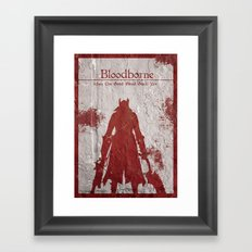 May The Good Blood Guide You Framed Art Print