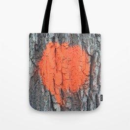 NVSV SPCS_orange blaze Tote Bag