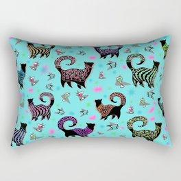 Fabulous Snobby Cats 1 Rectangular Pillow