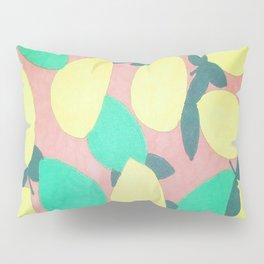 Lemony Fresh Citrus Pattern Pillow Sham